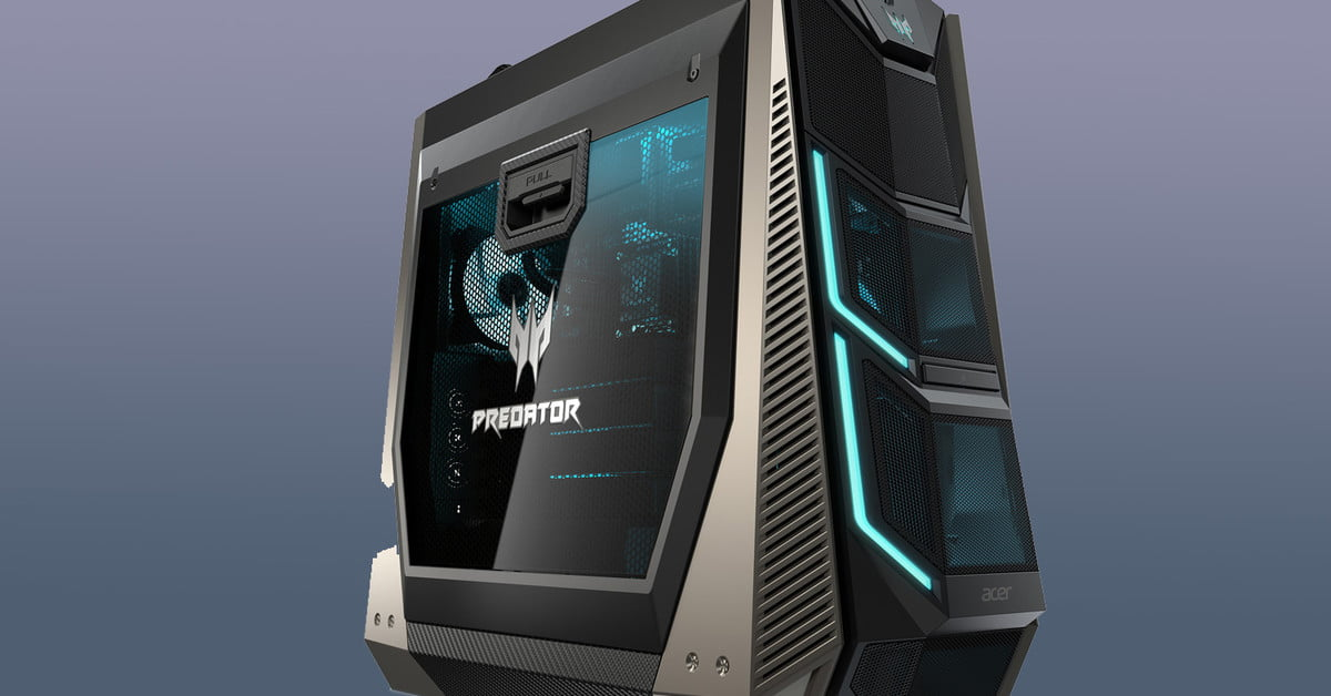 Acer S Predator Orion 9000 Has Options For Core I9 And Sli