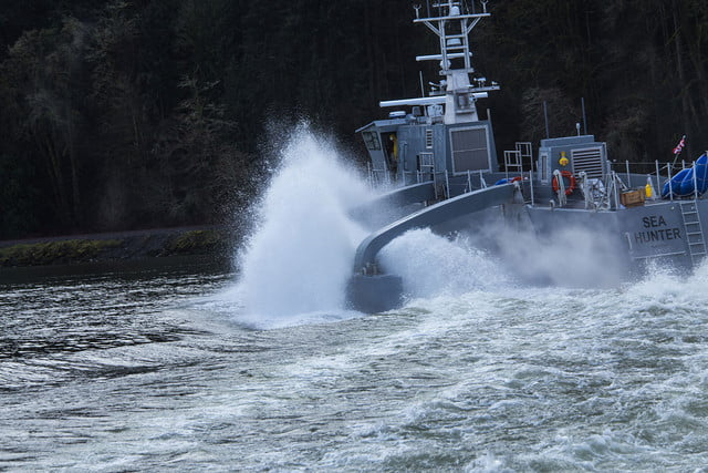 darpa officially christens the actuv in portland speed test 2