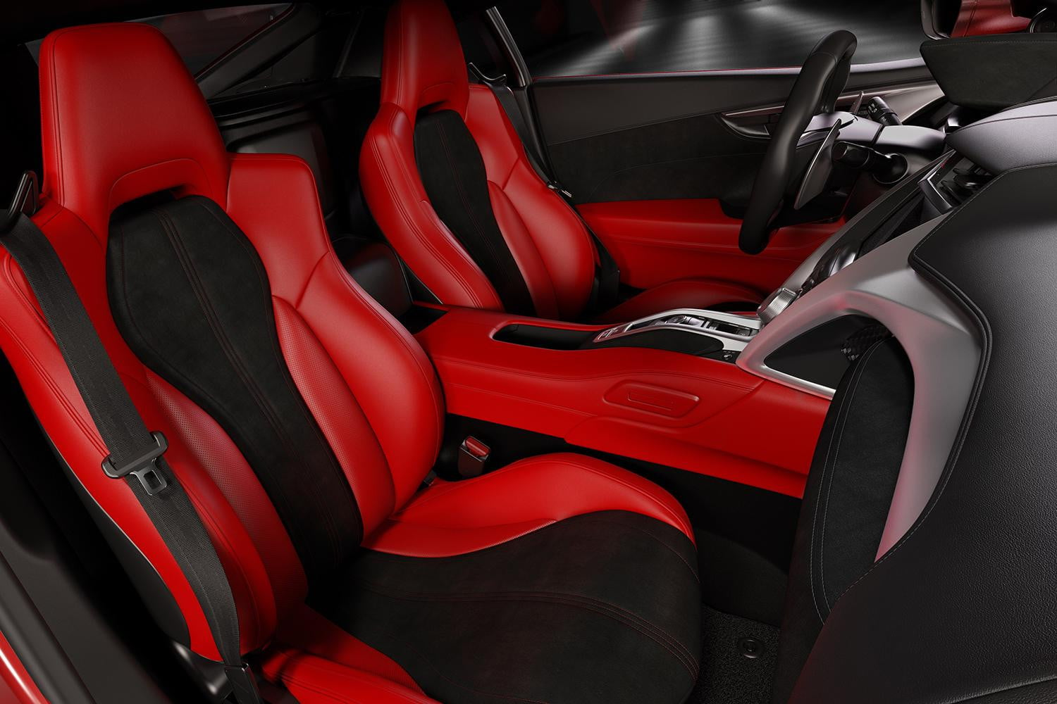 acura nsx 2014 interior. 2016 acura nsx the ford interior is all business it features a squaredoff steering wheel with integrated controls and an impossiblythin center console nsx 2014