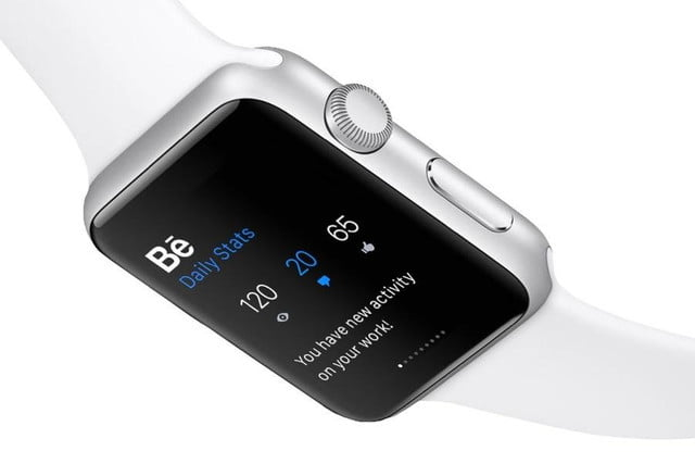 monitor and control your creative portfolio from apple watch with adobes apps adobe behance stats