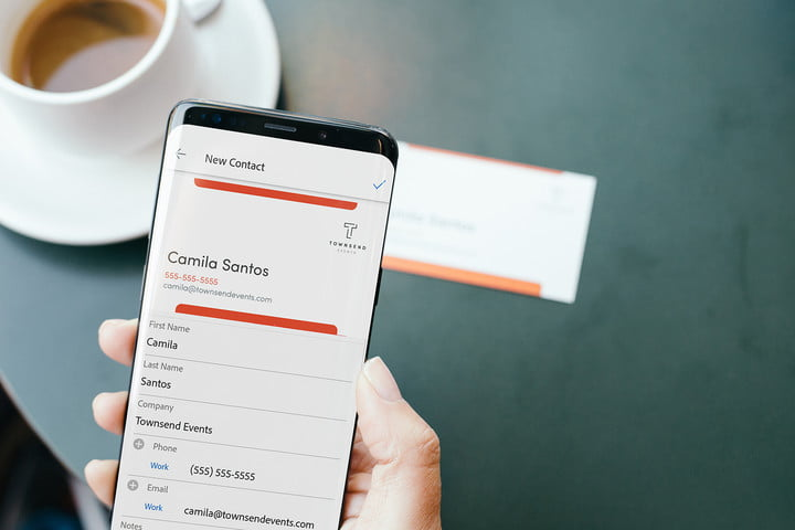 Adobe Scan can now automatically turn business cards into phone contacts