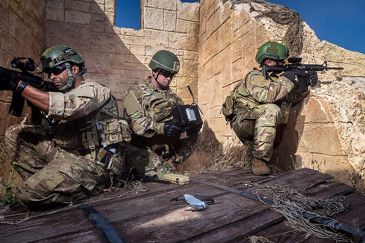 Pocket Sized Personal Drone Gives Soldiers An Extra Pair Of Eyes