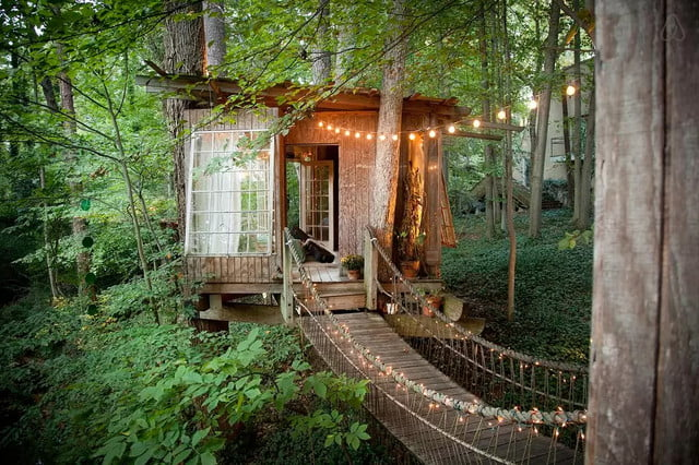airbnb releases list of most wish listed properties treehouse 3