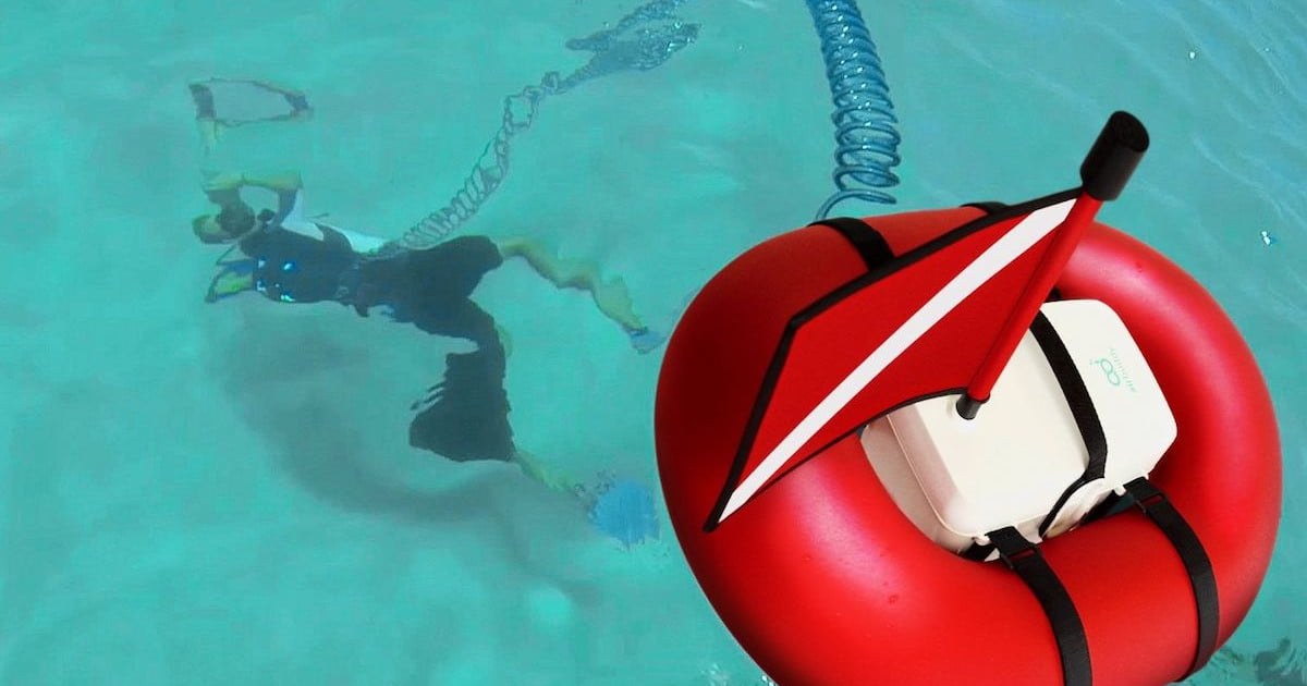 Airbuddy Is The Smallest And Lightest Dive Gear Ever