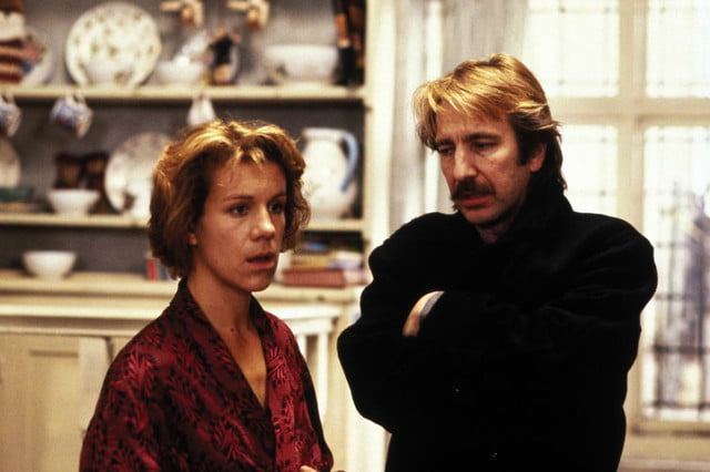 alan rickman best ten roles death truely madly deeply