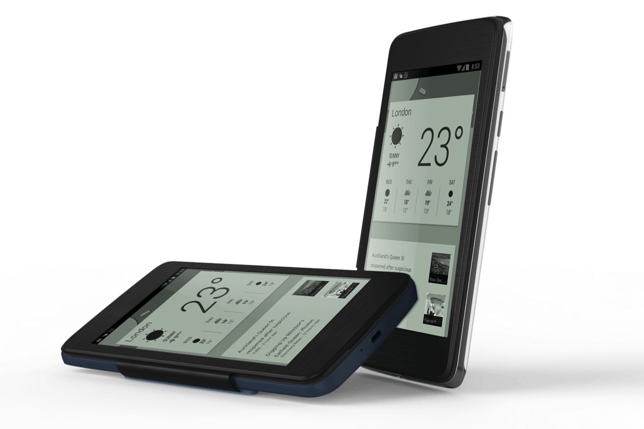 E Ink Screens Built Into Smartphone Covers And Cases Digital Trends Working Of Electronic Technology