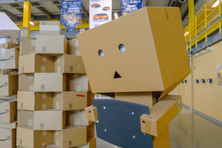 amazon warehouse tour fulfillment center danbo