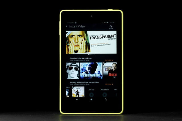 amazon fire hd 6 kindle instant video
