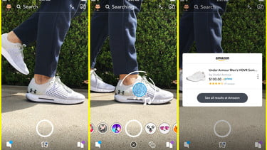 Snapchat Will Soon Shop Amazon For You Using Object-Recognition A I