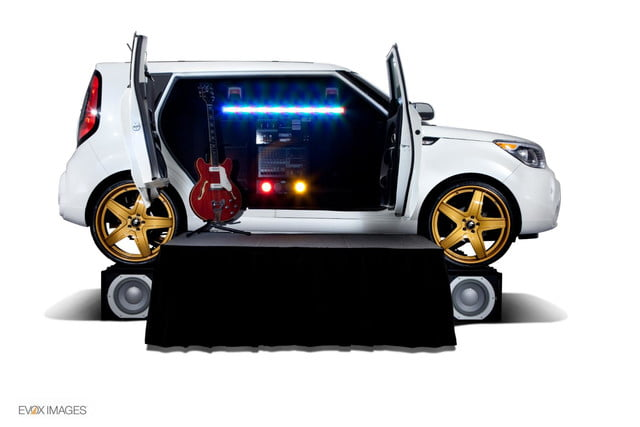 first hamsters now kia creates gaudy area music themed souls sema amped soul