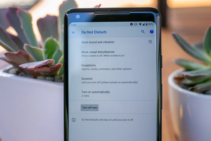 apple screen time and google digital wellbeing android p do not disturb front