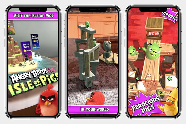 Angry Birds AR: Isle of Pigs brings 3D demolition into your living room