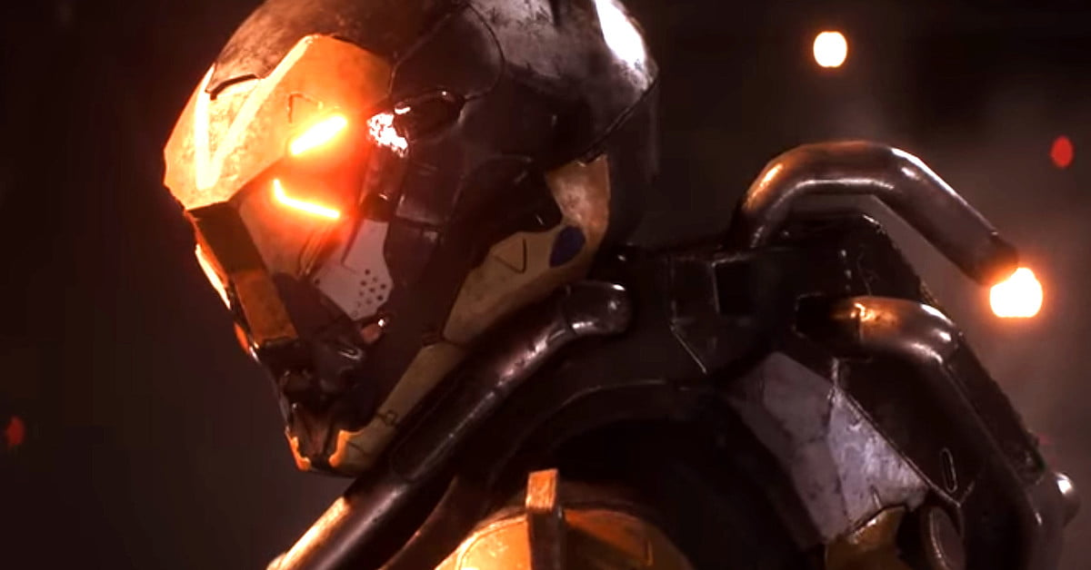 Players can team to explore a shared world when 'Anthem' debuts in February 2019