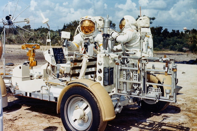 The evolution of NASA's moon buggy is even wilder than where it landed