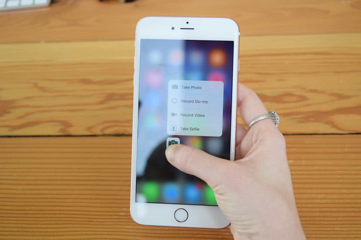 Image result for iphone 7 3d touch camera