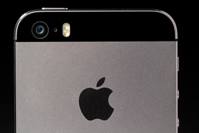 apple iphone 5s rear camara