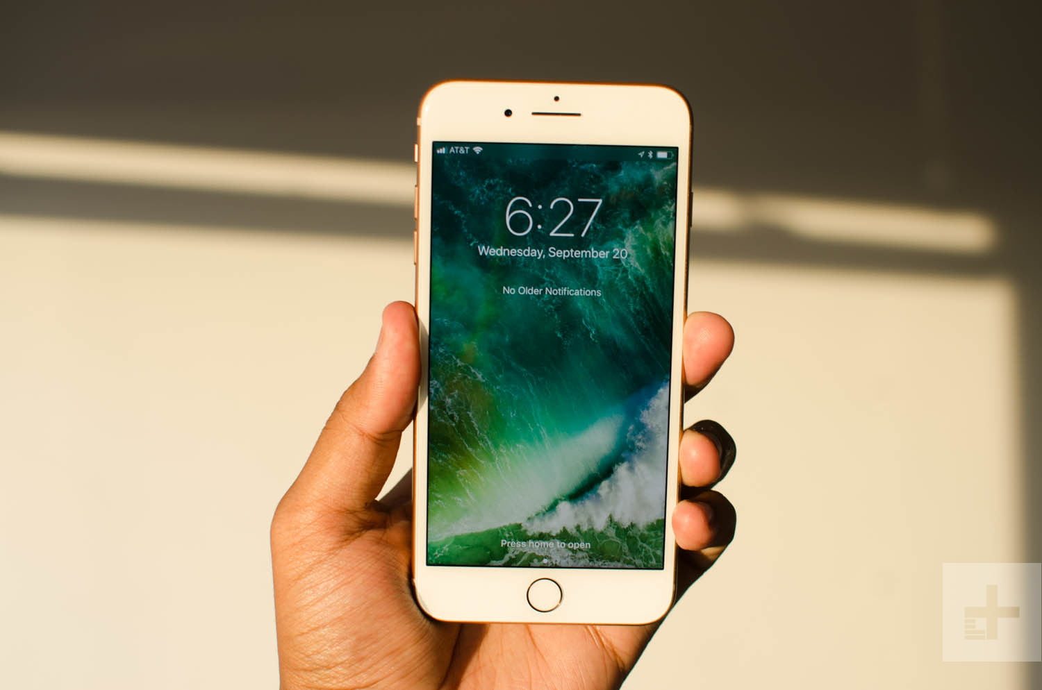 Image result for someone holding a iphone 8 plus