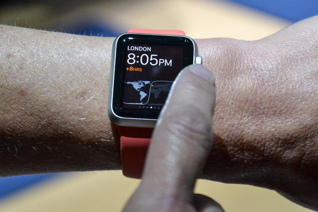 apple watch hands on 6