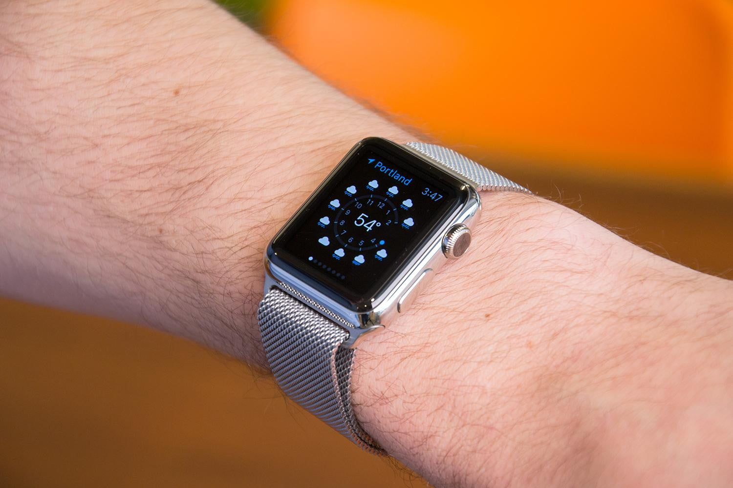 how to find apple watch os