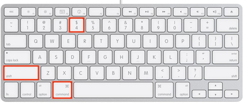 how to take a screenshot on mac applecompactkeyboardusb 2