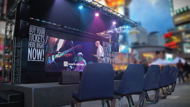 humagrams are interactive holograms you can talk to arht media concert booth display lg