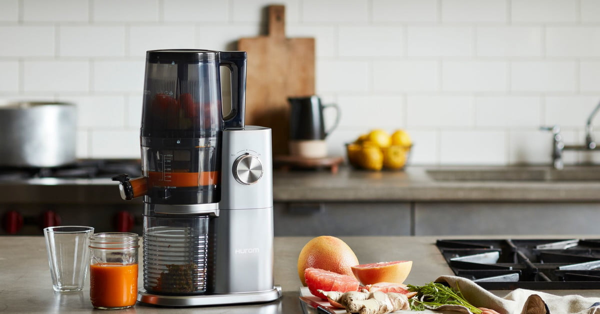 hurom debuts new h ai self feeding juicer so you can do less work