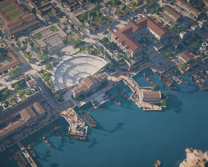 why assassins creed origins setting is its best quality historical accuracies 014042