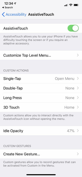 iphone x tips and tricks assistivetouch 2