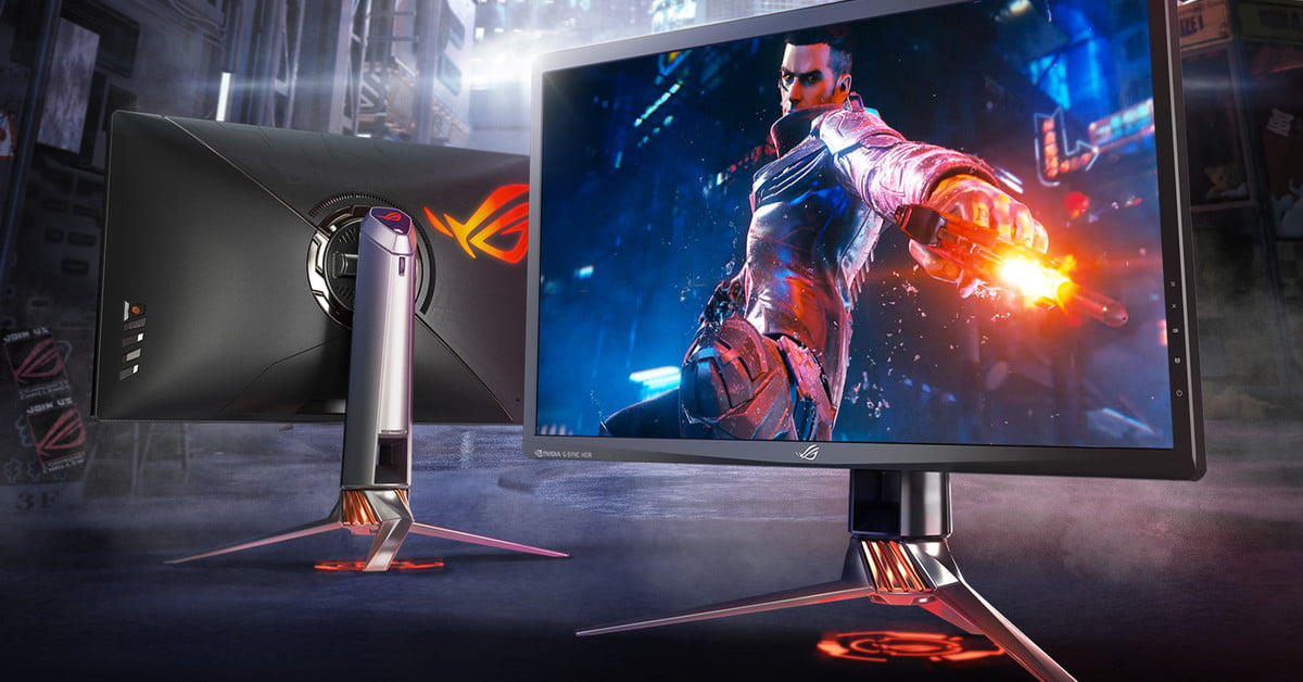 The New Asus ROG Swift G-Sync HDR Gaming Display is Crazy ...