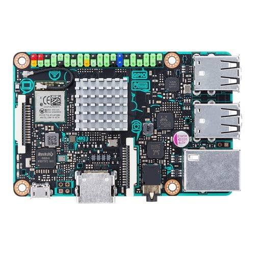 asus releases tinker board single computer in north america top down