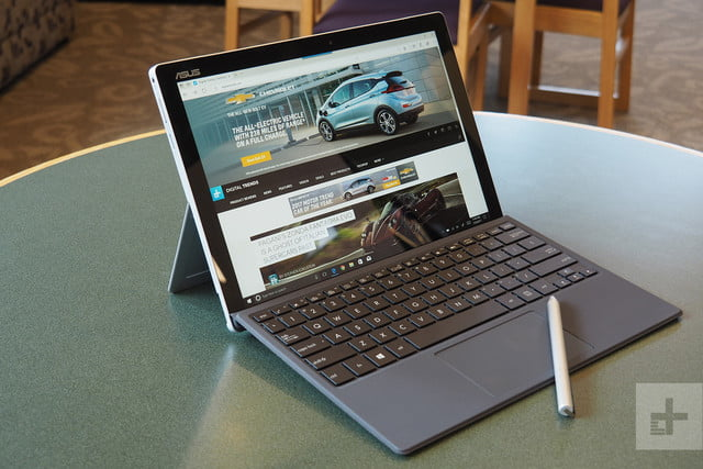 Asus Transformer T304 review front angle