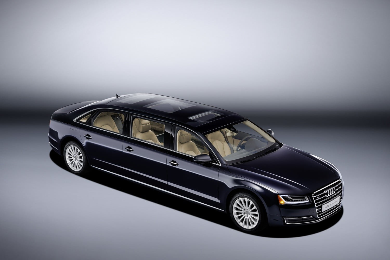 Audi audi a8 : This one-off Audi A8 L redefines the term 'long-wheelbase'