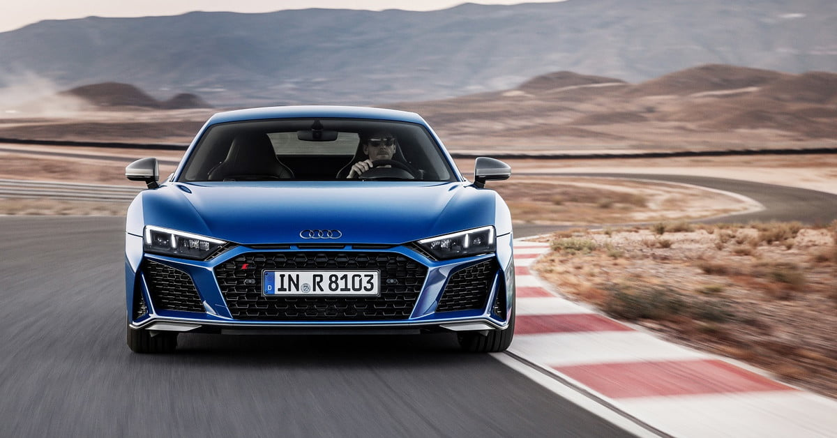 Audi R Gets More Powerful V Sharper Design For Digital Trends - R8 audi