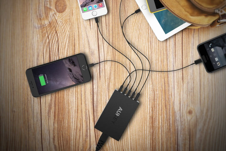 The best usb charging hubs for juicing all of your devices at once best usb charging hubs aukey usb charging station greentooth Choice Image