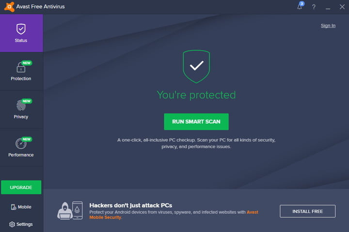 best free antivirus software avastfree01