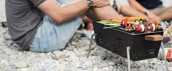 Awesome Tech You Can't Buy Yet: Battling bots, launch clocks, and bike-mounted BBQs