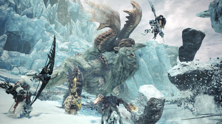 Monster Hunter World: Iceborne Brings Hot Drinks and Cool New