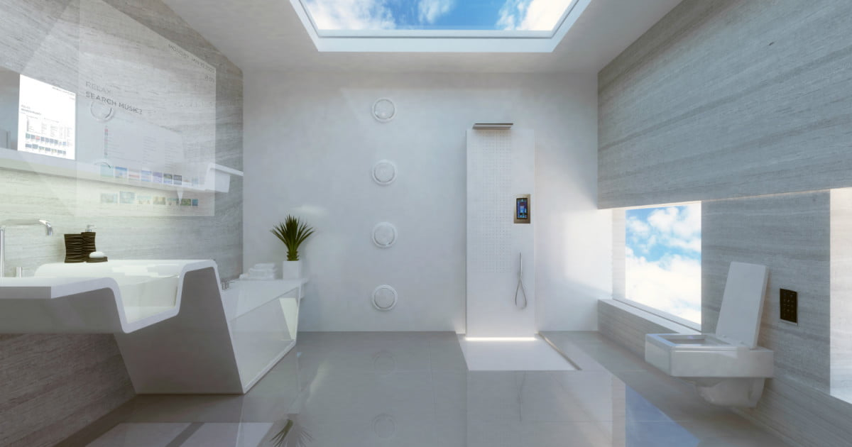 Futurologist Predicts How Bathrooms Will Look In 2040