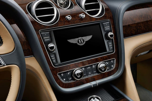 bentley says its bentayga suv can do it all but will customers bite  centre console a