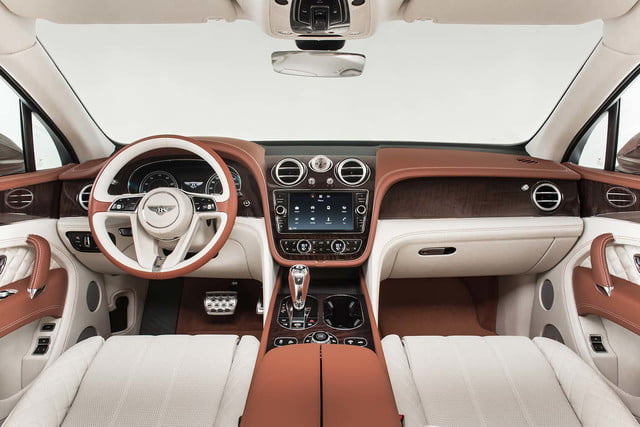 bentley says its bentayga suv can do it all but will customers bite  front cabin 3