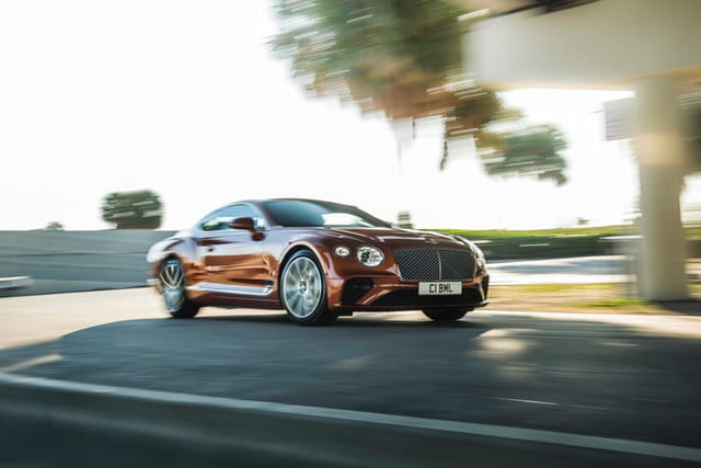 Bentley Continental GT V8 coupe