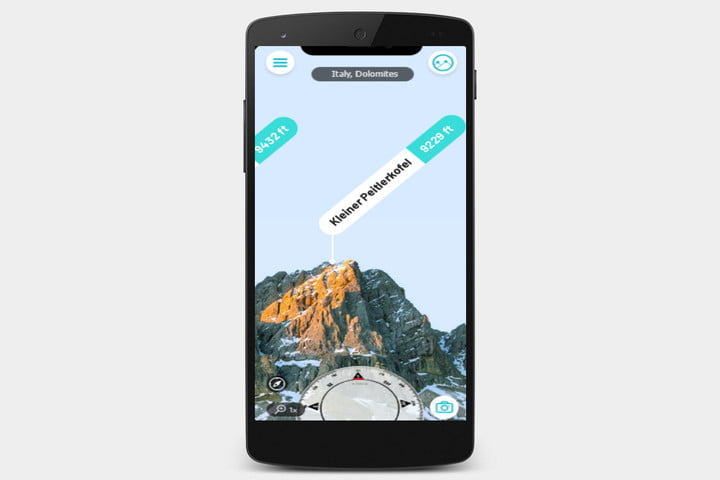 best hiking apps peakvisor
