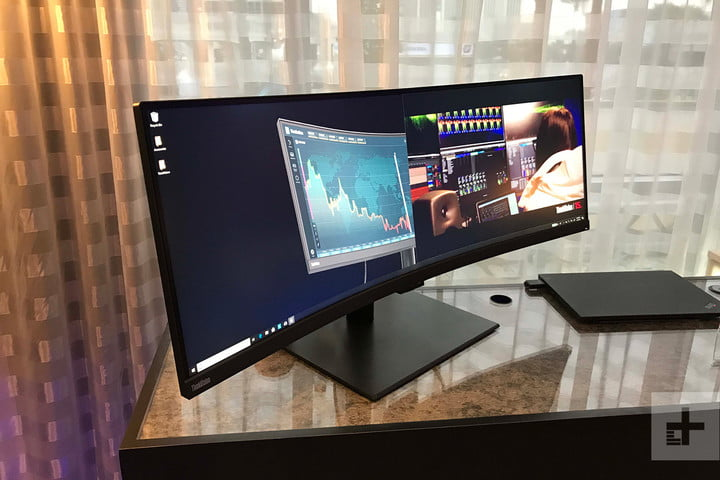 The Best Monitors of CES 2019: Aluminum, Sleek, and Ultrawide