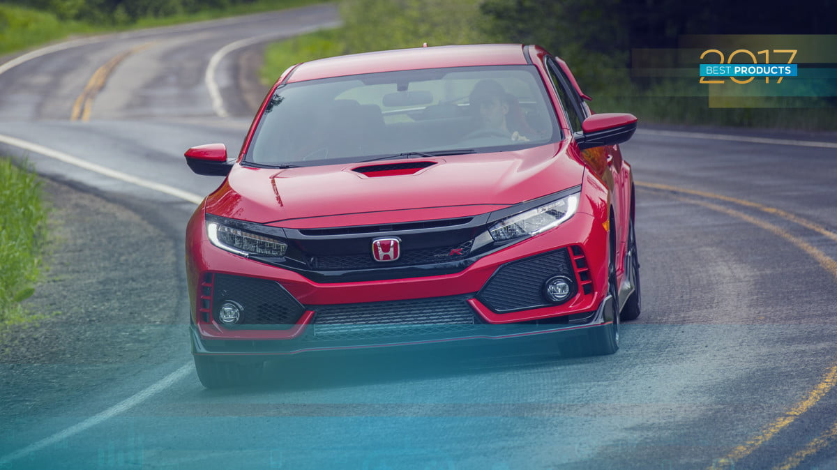 Best Car Of 2017 Honda Civic Type R
