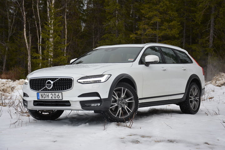 best cars for the snow volvo v90 cross country