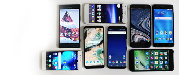The best bezel-less phones cut all the right corners without losing space