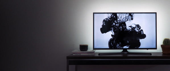 Make your TV pop with $40 worth of LEDs and the magic of bias lighting