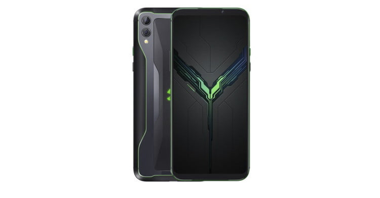 The Black Shark 2 looks like a mix between a smartphone and a Nintendo Switch