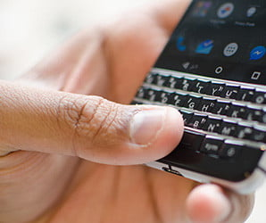 Swapping my iPhone for a BlackBerry made me think twice about real keyboards