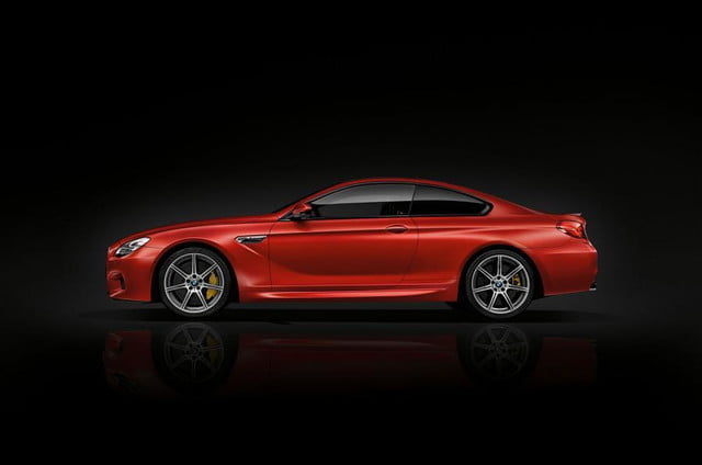 bmw m6 competition pack side